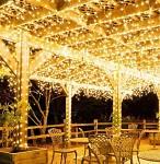 Světelný řetěz - 800 ks LED mini - teplá bílá - 100 m - půjčovna
