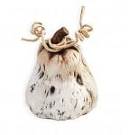 Dýně keramika - špičatá 10 cm
