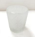 Svícen zlatý s diamanty - 145 mm