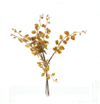 Tráva podzimní -  zápich 6ks - zeleno-oranžová