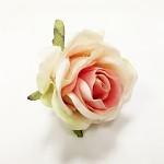 Hlavičky poupat růží 5 cm - sv. oranžové