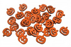 Dýně dřevěné oranžové  - 10ks