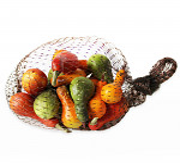 Dýně oranžové malé - 12 ks - mix tvarů