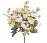 Kytice podzimní růže mini -  krémová