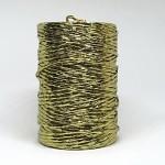 Papírový drátek 1,5mm - zlatý - 1m