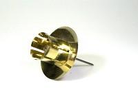 Bodec zlatý na velkou konickou svíčku - 1 ks