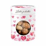 Mandle v dárkové krabičce - láska je sladká