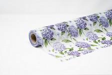 Vlizelín s fialovými hortenziemi  - 50 cm/ 1,5 m