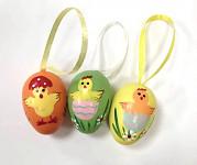 Vajíčka malá plastová v tubě - se zvířátky - 12 ks