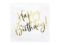 Ubrousky - Happy birthday zlaté