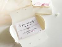 Dárek pro Tým nevěsty  - náramek srdíčko