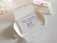 Dárek pro Tým nevěsty  - náušnice lístečky