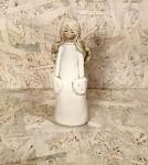 Anděl stojící  18 cm - s kapsami