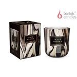 Vonná svíčka ve skle - 150 g - mramor černý