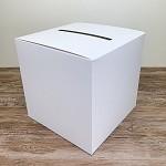 Krabička na peníze (přání) - bílá