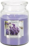 Vonná svíčka lux Bispol Aura - Levandule - 500 g