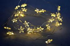 Světelný řetěz jednorožci - 20 ks