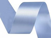 Stuha saténová 40 mm - sv.modrá - 1m