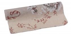 Textilní šerpa s květy ibišku - 28 cm/3 m