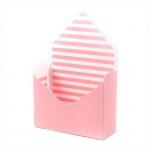 Flower (květinový) box - obálka růžovo-bílá