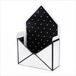 Flower (květinový) box - obálka bílo-černá