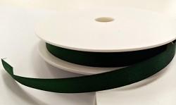 Saténová stuha 10 mm - tm.zelená - 1 m