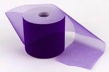 Tylová stuha fialová - 10cm/1m