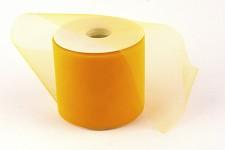 Tylová stuha žlutá - 10cm/1m