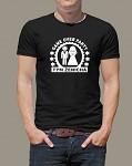 Rozlučkové tričko - pánské černé game over párty - tým ženicha