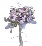 Ranunculus svazek - fialkový s patinou