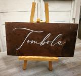 Fotorekvizita - nápis Tombola - půjčovna