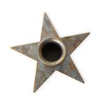 Dřevěný svícen na čajovou svíčku - kulatý 5x4 cm