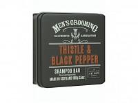 Scottish Fine Soaps - pánský luxusní tuhý šampon v plechu