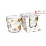 Vonná svíčka ve skle - Glamour Christmas silver&gold