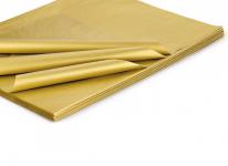 Hedvábný papír do dárkových tašek - 1 ks - zlatý