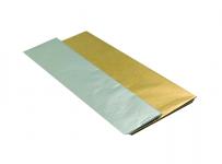 Hedvábný papír do dárkových tašek - 1 ks - stříbrný