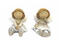 Andělka sedící - sv. hnědá