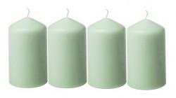 Adventní svíce - šalvějově zelené malé