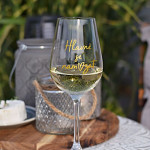 Sklenice na víno 340 ml - Hlavně se namazat