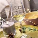 Sklenice na víno 340 ml - Protože Vánoce jsou dlouhé