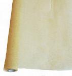 Vlizelínová šerpa krémovozlatá glitter - 50 cm / 2,5 m