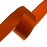 Stuha saténová 40 mm - oranžová - 1m