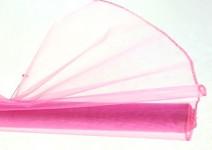 Organza šerpa - starorůžová