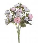 Kytice trsových růžiček - růžová