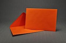 Obálka barevná - oranžová