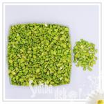 Dekorační drť olivově zelená