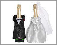 Svatební oblek na lahve