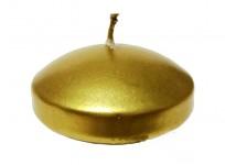 Plovoucí svíčka - zlatá