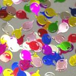 Holografické konfety - balonky
