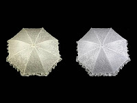 Krajkový svatební deštník  - půjčovna